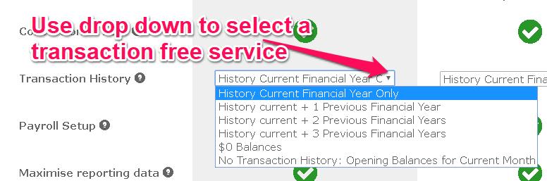 xero how to add transactions before xero feed setup